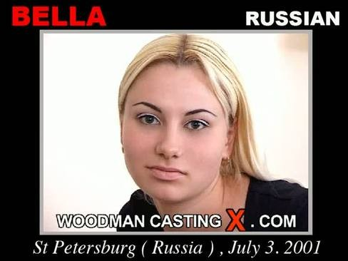 Bella - `Bella casting` - by Pierre Woodman for WOODMANCASTINGX