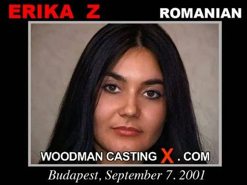 Erika Z - `Erika Z casting` - by Pierre Woodman for WOODMANCASTINGX