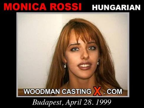 Monica Rossi - `Monica Rossi casting` - by Pierre Woodman for WOODMANCASTINGX