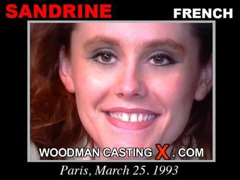 Sandrine - `Sandrine casting` - by Pierre Woodman for WOODMANCASTINGX
