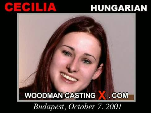 Cecilia - `Cecilia casting` - by Pierre Woodman for WOODMANCASTINGX
