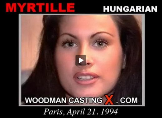 Myrille - `Myrtille casting` - by Pierre Woodman for WOODMANCASTINGX