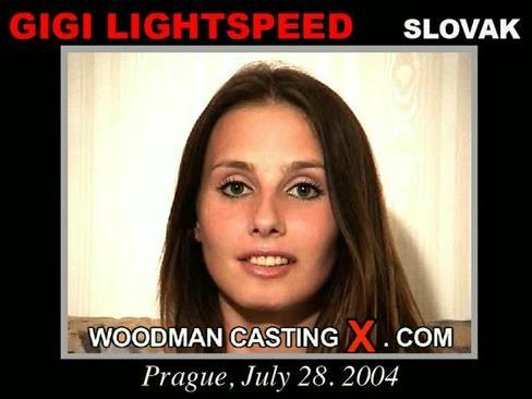 Gigi Lightspeed - `Gigi Lightspeed casting` - by Pierre Woodman for WOODMANCASTINGX