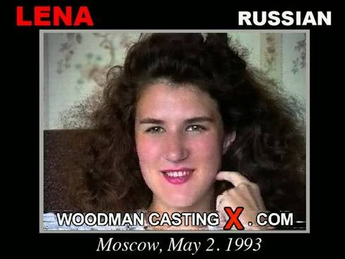 Lena - `Lena casting` - by Pierre Woodman for WOODMANCASTINGX