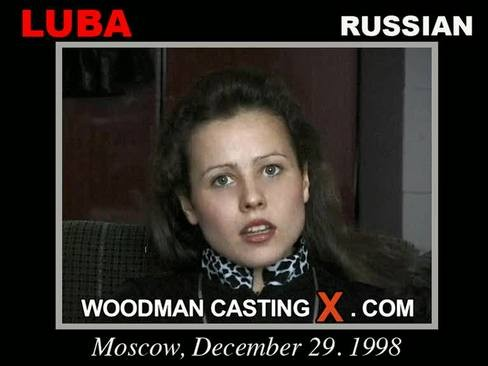 Luba - `Luba casting` - by Pierre Woodman for WOODMANCASTINGX