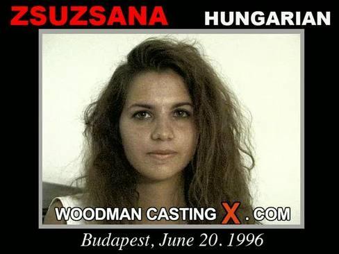 Zsuzsana - `Zsuzsana casting` - by Pierre Woodman for WOODMANCASTINGX