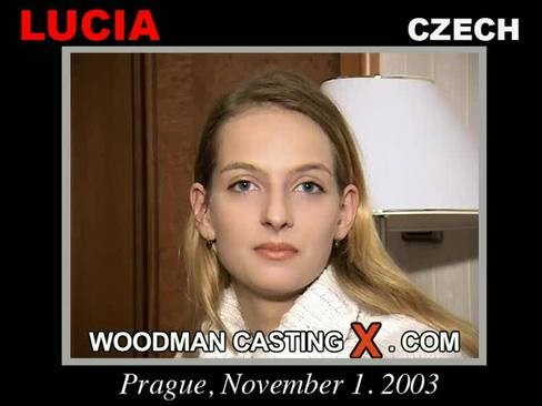 Lucia - `Lucia casting` - by Pierre Woodman for WOODMANCASTINGX