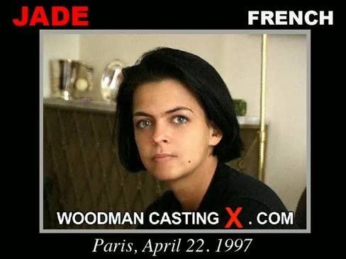 Jade - `Jade casting` - by Pierre Woodman for WOODMANCASTINGX
