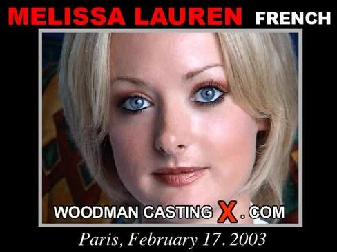 Melissa Lauren - `Melissa Lauren casting` - by Pierre Woodman for WOODMANCASTINGX