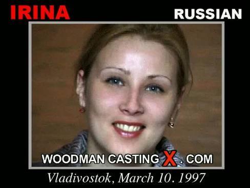 Irina - `Irina casting` - by Pierre Woodman for WOODMANCASTINGX