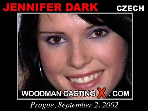 Jennifer Dark - `Jennifer Dark casting` - by Pierre Woodman for WOODMANCASTINGX