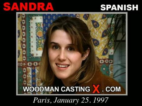 Sandra - `Sandra casting` - by Pierre Woodman for WOODMANCASTINGX