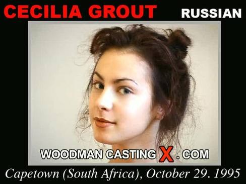 Cecilia Grout - `Cecilia Grout casting` - by Pierre Woodman for WOODMANCASTINGX