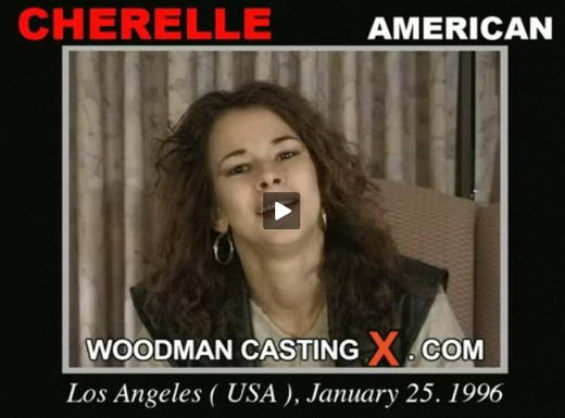 Cherelle - `Cherelle casting` - by Pierre Woodman for WOODMANCASTINGX