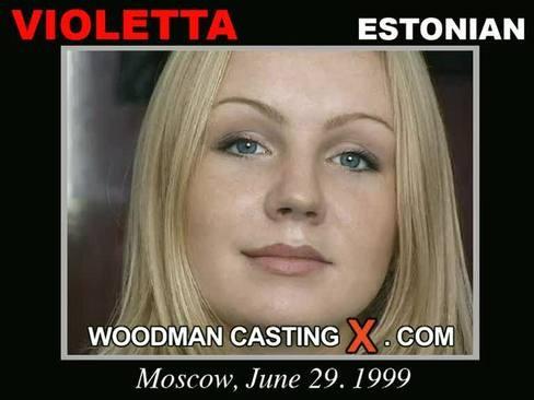 Violetta - `Violetta casting` - by Pierre Woodman for WOODMANCASTINGX