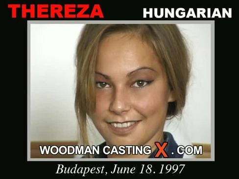 Thereza - `Thereza casting` - by Pierre Woodman for WOODMANCASTINGX