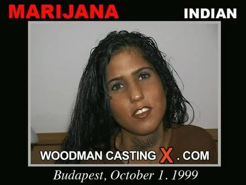 Marijana - `Marijana casting` - by Pierre Woodman for WOODMANCASTINGX