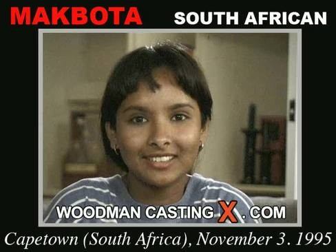 Makbota - `Makbota casting` - by Pierre Woodman for WOODMANCASTINGX