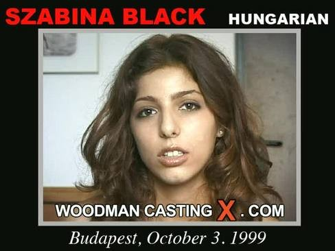 Szabina Black - `Szabina Black casting` - by Pierre Woodman for WOODMANCASTINGX