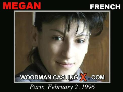 Megan - `Megan casting` - by Pierre Woodman for WOODMANCASTINGX