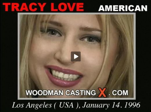 Tracy Love - `Tracy Love casting` - by Pierre Woodman for WOODMANCASTINGX