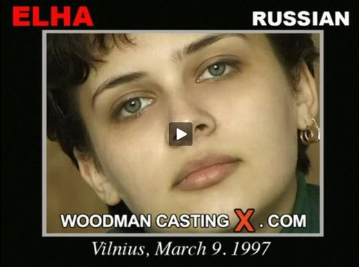 Elha - `Elha casting` - by Pierre Woodman for WOODMANCASTINGX