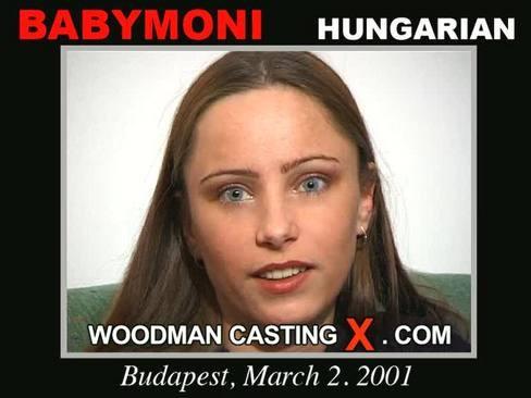 Babymoni - `Babymoni casting` - by Pierre Woodman for WOODMANCASTINGX