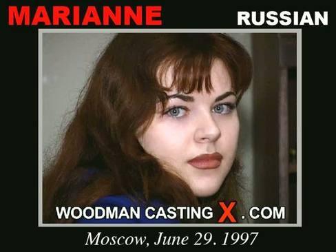 Marianne - `Marianne casting` - by Pierre Woodman for WOODMANCASTINGX