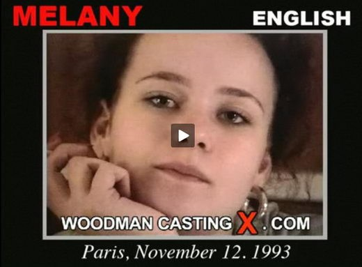 Melany - `Melany casting` - by Pierre Woodman for WOODMANCASTINGX