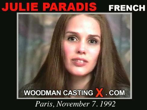 Julie Paradis - `Julie Paradis casting` - by Pierre Woodman for WOODMANCASTINGX