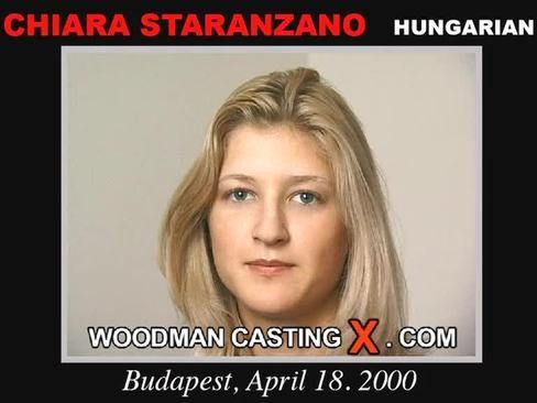 Chiara Staranzano - `Chiara Staranzano casting` - by Pierre Woodman for WOODMANCASTINGX