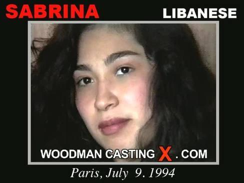 Sabrina - `Sabrina casting` - by Pierre Woodman for WOODMANCASTINGX