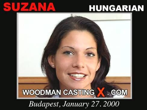 Suzana - `Suzana casting` - by Pierre Woodman for WOODMANCASTINGX