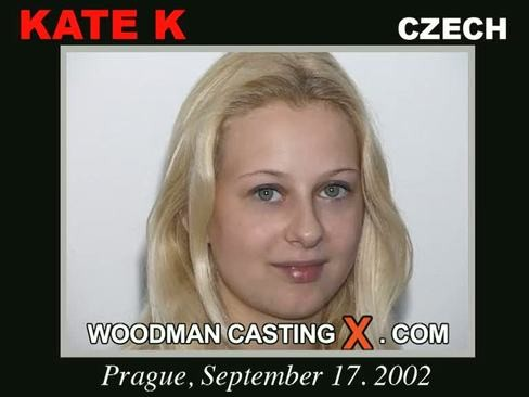 Kate K - `Kate K casting` - by Pierre Woodman for WOODMANCASTINGX