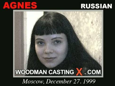Agnes - `Agnes casting` - by Pierre Woodman for WOODMANCASTINGX