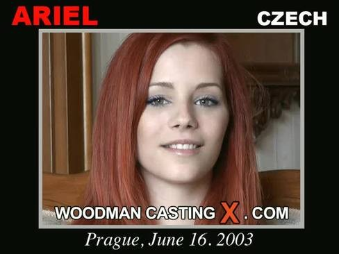 Ariel - `Ariel casting` - by Pierre Woodman for WOODMANCASTINGX