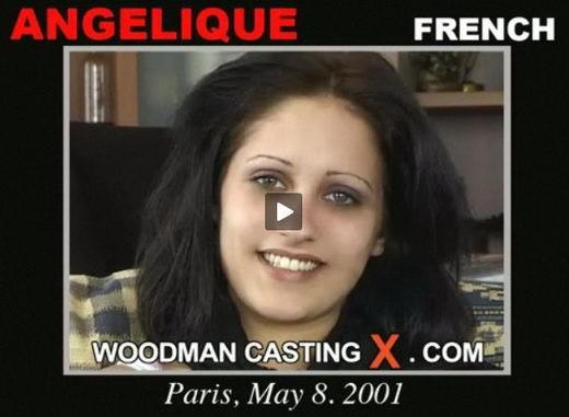 Angelique - `Angelique casting` - by Pierre Woodman for WOODMANCASTINGX
