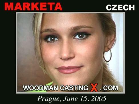 Marketa - `Marketa casting` - by Pierre Woodman for WOODMANCASTINGX