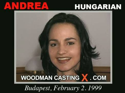 Andrea - `Andrea casting` - by Pierre Woodman for WOODMANCASTINGX