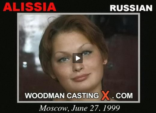 Alissia - `Alissia casting` - by Pierre Woodman for WOODMANCASTINGX