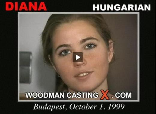 Diana - `Diana casting` - by Pierre Woodman for WOODMANCASTINGX