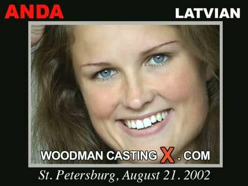 Anda - `Anda casting` - by Pierre Woodman for WOODMANCASTINGX