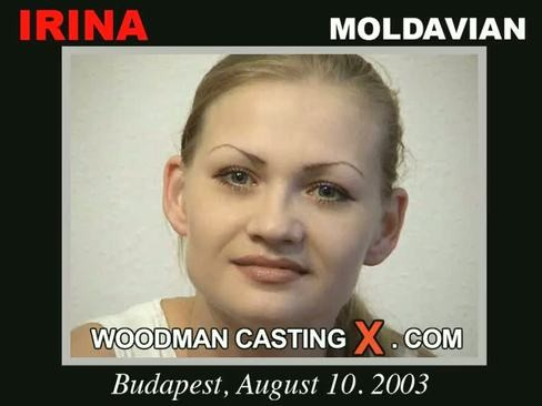 Irina - `Irina casting` - by Pierre Woodman for WOODMANCASTINGX