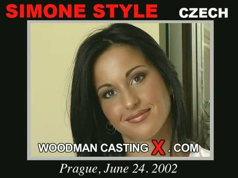 Simone Style - `Simone Style casting` - by Pierre Woodman for WOODMANCASTINGX