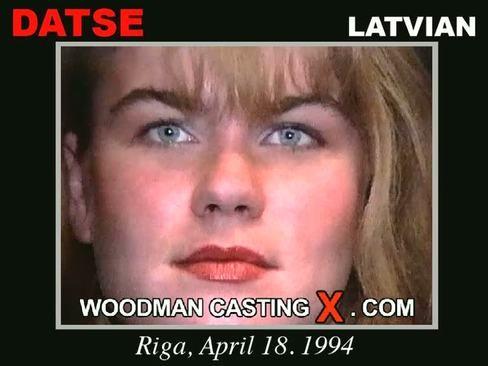 Datse - `Datse casting` - by Pierre Woodman for WOODMANCASTINGX