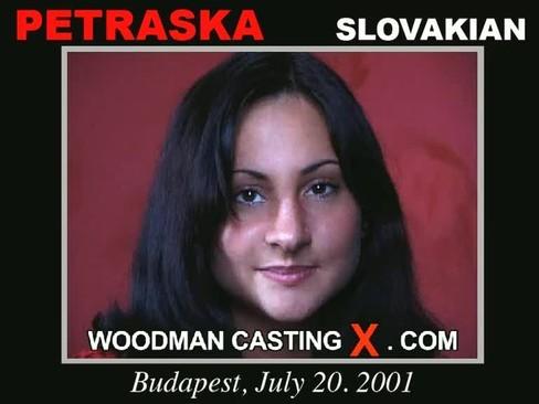 Petraska - `Petraska casting` - by Pierre Woodman for WOODMANCASTINGX