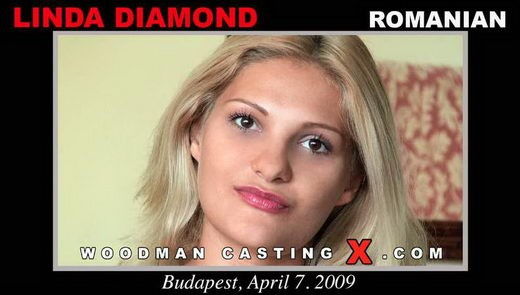 Linda Diamond - `Linda Diamond casting` - by Pierre Woodman for WOODMANCASTINGX