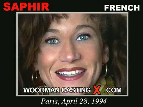Saphir - `Saphir casting` - by Pierre Woodman for WOODMANCASTINGX