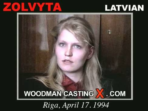 Zolvyta - `Zolvyta casting` - by Pierre Woodman for WOODMANCASTINGX