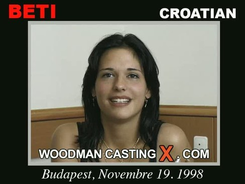 Beti - `Beti casting` - by Pierre Woodman for WOODMANCASTINGX